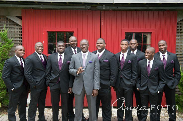 Wedding Flower Ideas For Groomsmen : Groomsmen anyafoto wedding men s fashion gray