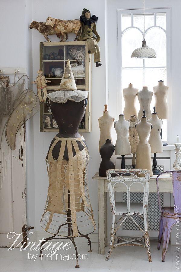 Vintage By Nina.com beautiful dress forms