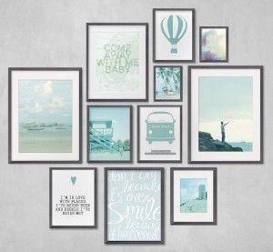 vakantie muur collage