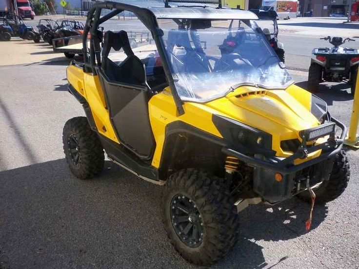 Used 2015 Can-Am Commander XT 1000 ATVs For Sale in Alabama. 2015 Can-Am Commander XT 1000, 2015 Can Am Commander 1000XT Here is another clean trade in at Motorsports Superstore in Hamilton, AL. It is a 2015 Can Am Commander 1000XT with 1398 miles. It has several accessories. Give us a call at 888-880-2277 or 205-921-7777. Email greg at motorsportssuperstore dot com. Ask about our delivery options.