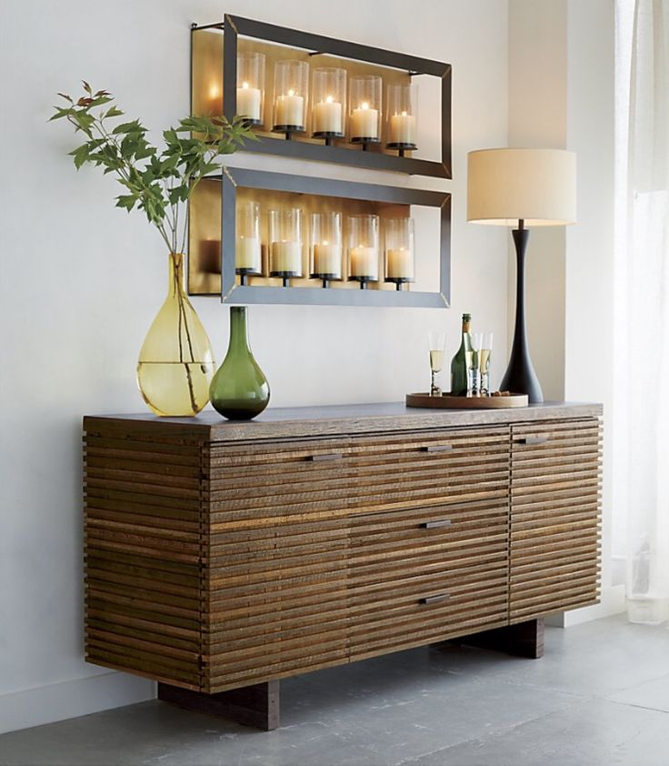 Crate and Barrel - Paloma I Large Sideboard