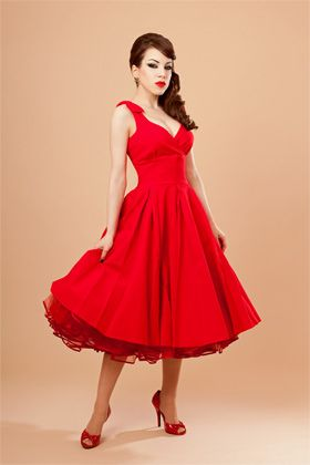 Great dress for dancing! (without the overdone makeup): Amazing Pinup, Jewelleryhead Dresses, Full Skirts, Red Dresses, Retro Dresses, Red Pin Up Wedding Dresses, Fab Dresses, Pinup Girls Dresses, Red Pin Up Dresses