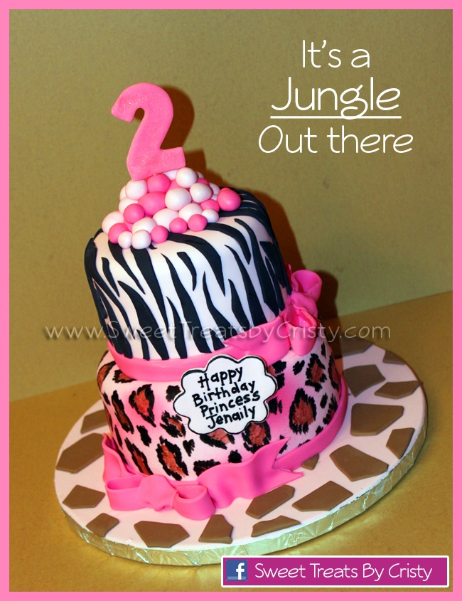 I'm not the only one doing a 2 year olds birthday in animal print, yes!!