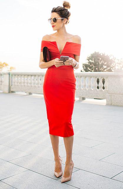 M co red dress organization