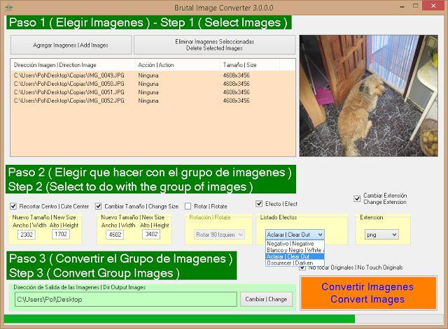 """Noticias de Pol Software: """"Brutal Image Converter"""" Ahora es Freeware"""