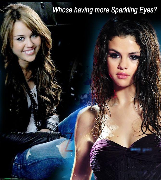 Whose having more Sparkling Eyes?