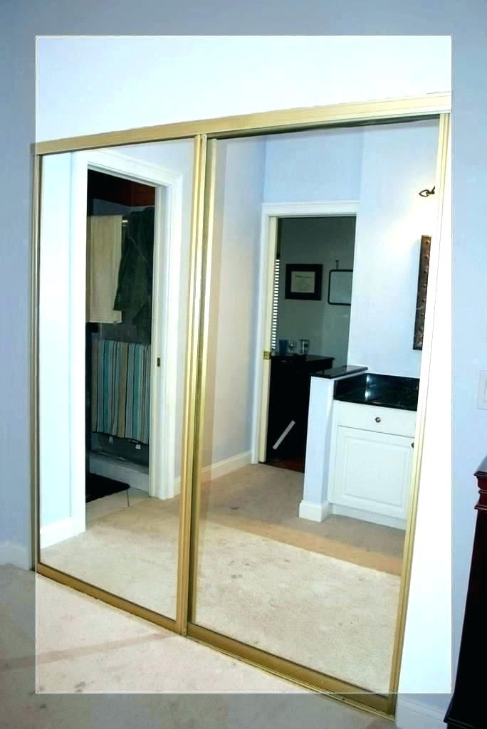 Door Interior Sliding Mirror Closet Doors Home Depot Mirrored Closet Door Home Depot Mirrored Closet Doo In 2020 Modern Closet Doors Mirror Closet Doors Modern Closet