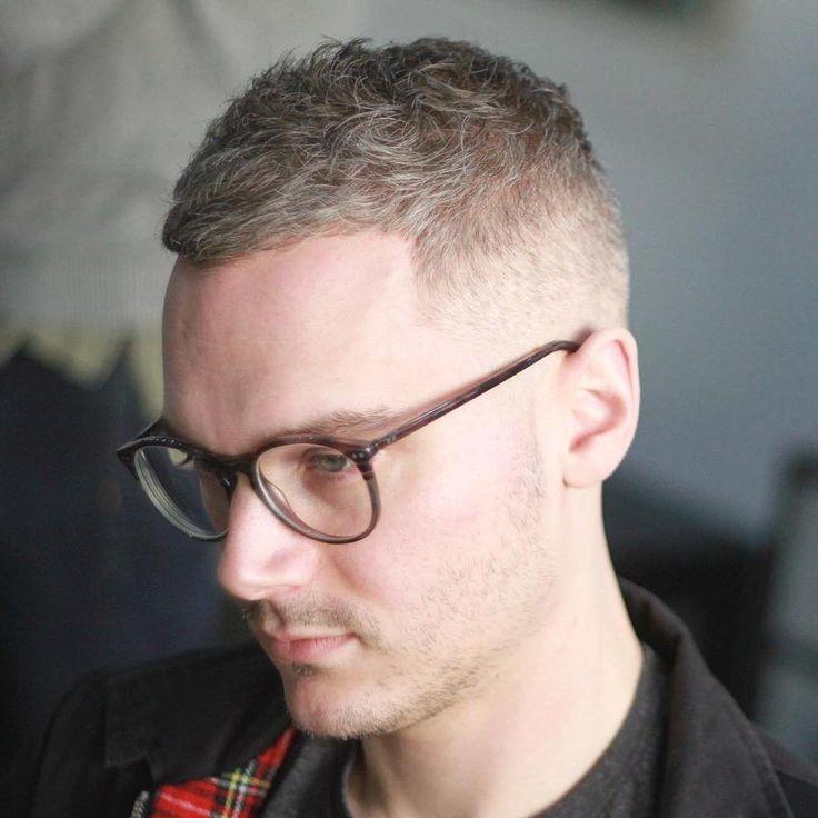 Short Mens Haircut For Wavy Hair