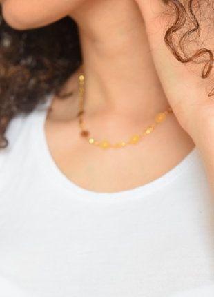 Kaufe meinen Artikel bei #Kleiderkreisel http://www.kleiderkreisel.de/accessoires/ketten-and-anhanger/152478712-goldfarbene-kette-und-armband-mit-kleinen-munzen-orientalische-kette