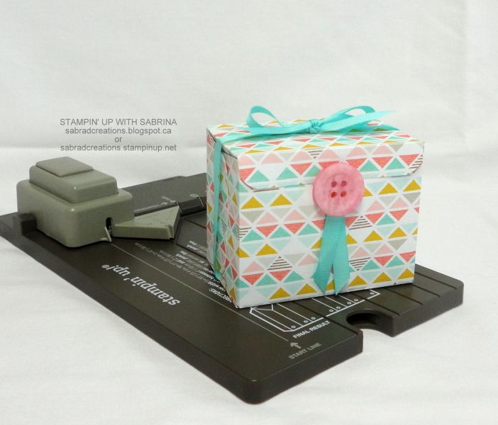 INTRODUCING the GIFT BAG PUNCH BOARD - Small Box 1