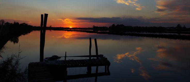 Sunset - lagoon of Venice - Cavallino Treporti Pordelio