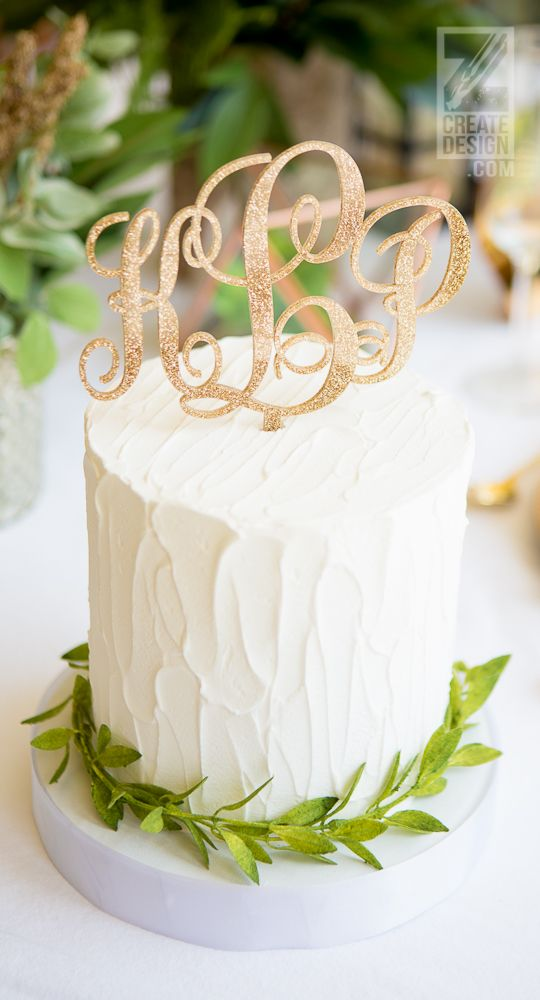 Where Did You Get That Cake Topper?? Find one-of-a-kind pieces for your wedding that will have your guests in awe. // Handcrafted Table Signs and Event Decor, Gifts & Accessories at www.ZCreateDesign.com or ZCreateDesign on Etsy