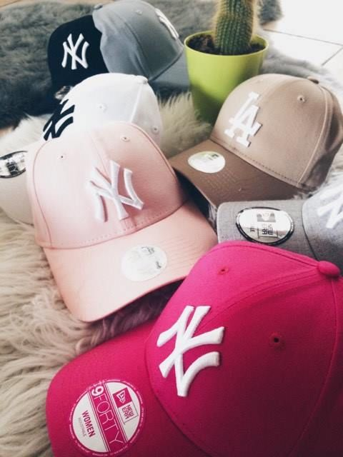 Collection de casquette New Era #newyorkyankees sur www.freesideshop.com dès 19.90€ !! #freesidelook #homme #femme #junior #style