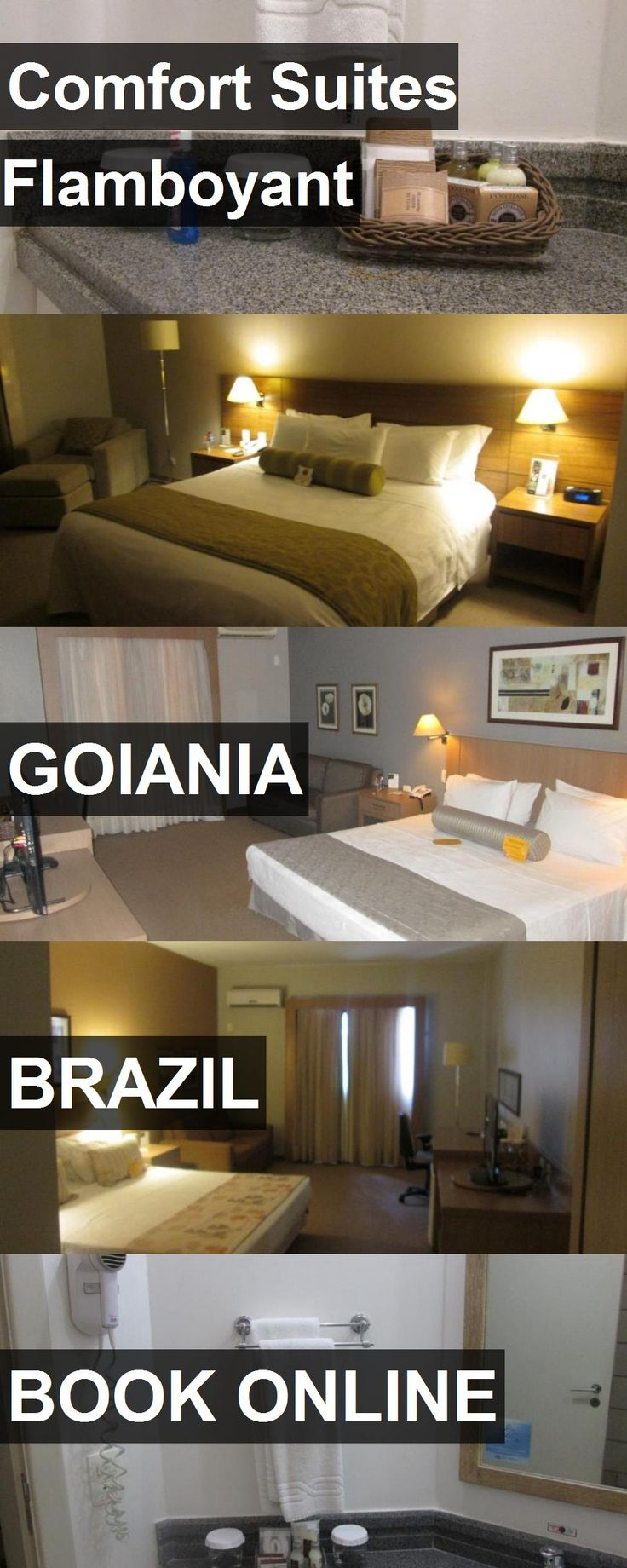 Hotel Comfort Suites Flamboyant in Goiania, Brazil. For more information, photos, reviews and best prices please follow the link. #Brazil #Goiania #travel #vacation #hotel