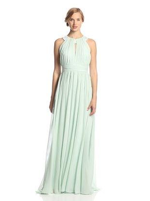 70% OFF Badgley Mischka Women's Gown (Sage)