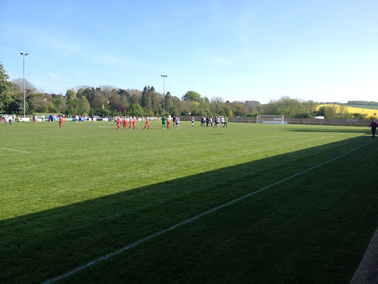 A picture of Alfredian Park, the home of Wantage Town FC and scene of our cup final defeat. Sniff!