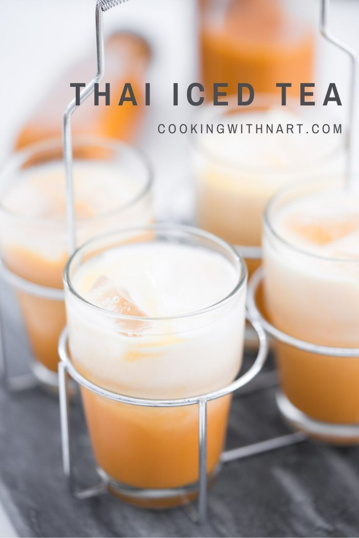 Thai Iced Tea Cha Yen Recipe Cooking With Nart Recipe In 2020 Iced Tea Tea Recipes Recipes