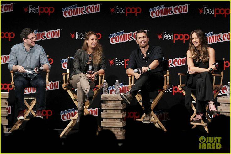 Kate Beckinsale & Theo James Debut New 'Underworld: Blood Wars' Trailer at NYCC!