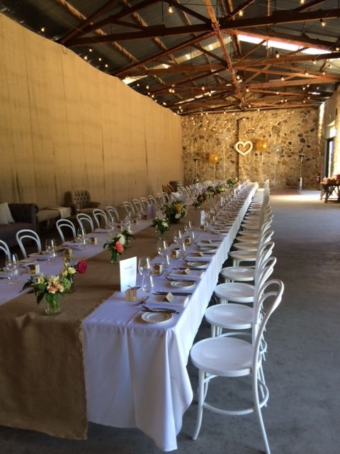 Golding Wines Furniture Rentals & Lighting - Sash Events Flowers - Poppies Flowers