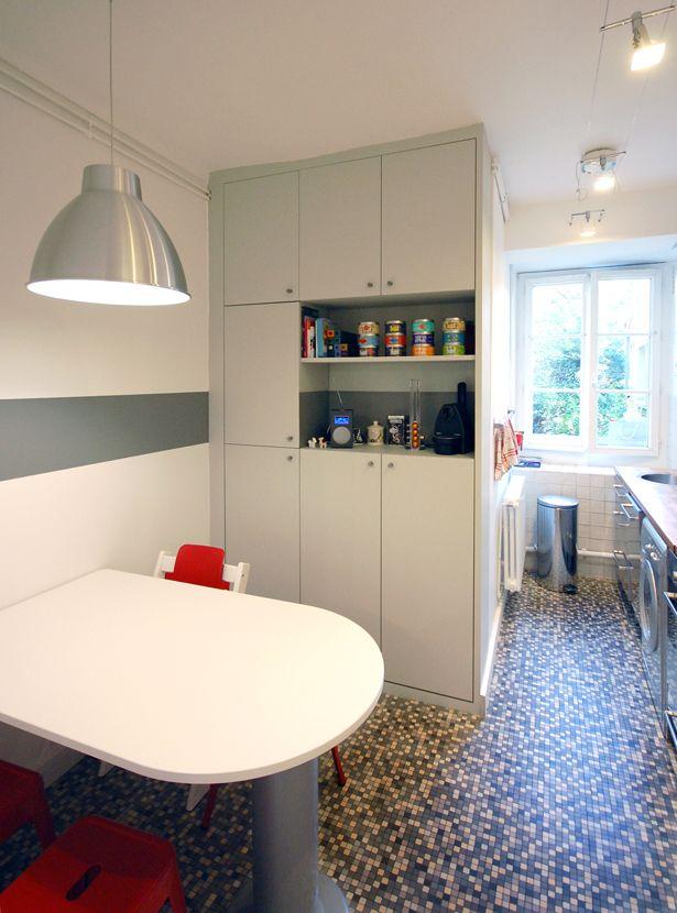 Un 50 m² agrandi en souplex de 60 m² Studio d'Archi rénovation Architecte Paris