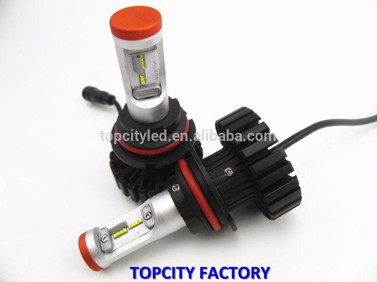 LED car headlight kit 9004 9007 no fan led car headlight high power led headlight car  Whatsapp: +8613925028526 Skype: selena.teenda.hid