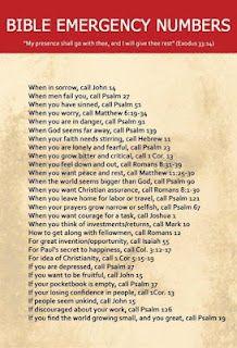 Bible verses.