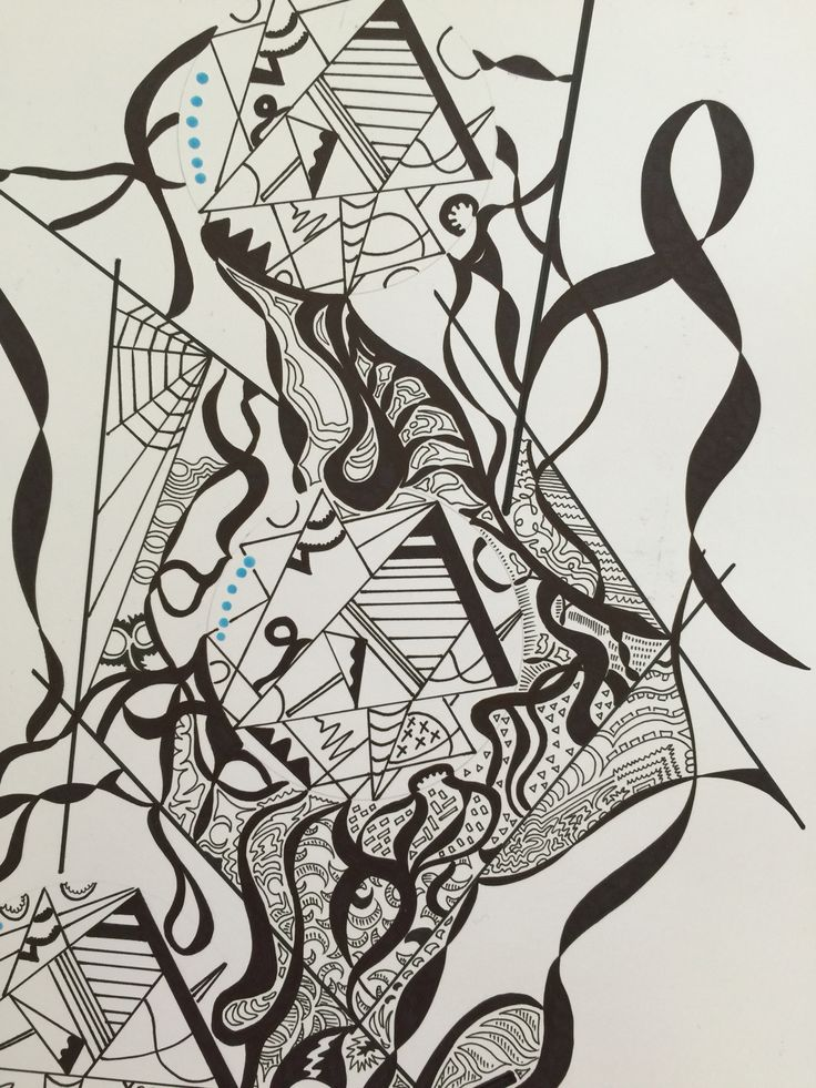 Patterns through doodles