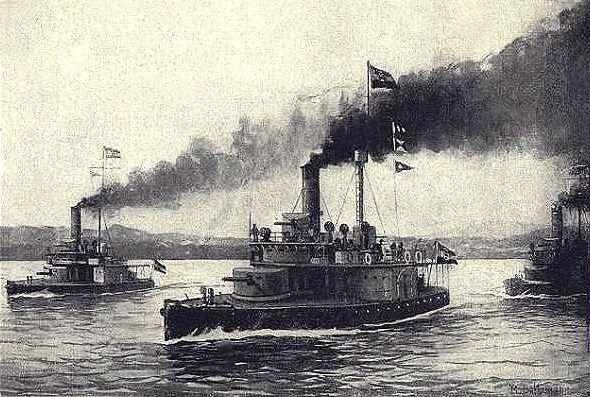 July 30, 1914 - Austro-Hungarian warships (Monitors) bombard Belgrade, capital of Serbia. The Danube Flotilla set out.