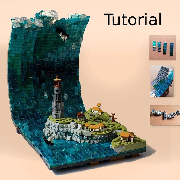 """LEGO Warlord auf Instagram: """"Weitere Kreationen 👉 @warlord_lego. Das Tutorial für …   – Lego Ideen"""