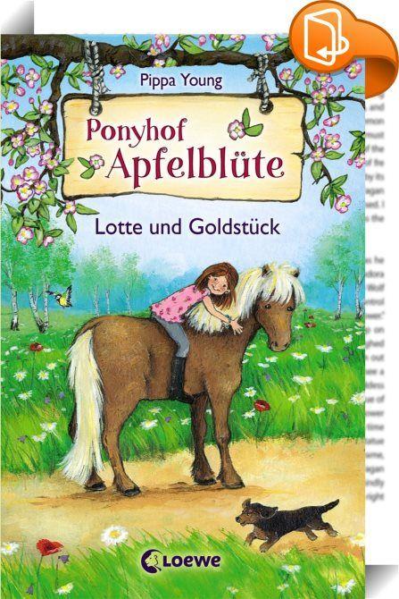 Ponyhof Apfelblüte 3 - Lotte und Goldstück    ::  Auf dem Ponyhof Apfelblüte werden Träume wahr. Jedes Mädchen findet sein Lieblingspony, kann mit ihm schmusen, es striegeln und natürlich auf ihm reiten!  Für Lotte bricht eine Welt zusammen. Ihre Eltern können sich den Unterhalt für ihr geliebtes Pony nicht mehr leisten und wollen es verkaufen! Und schon stehen die ersten möglichen Käufer auf dem Hof - was soll Lotte nur tun? Fieberhaft sucht sie einen Weg, ihr Pony doch noch behalten ...