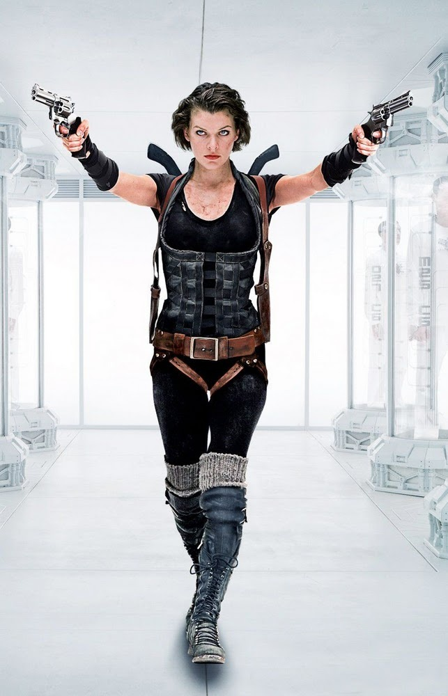Resident Evil. love these movies, making this outfit is def on my list!
