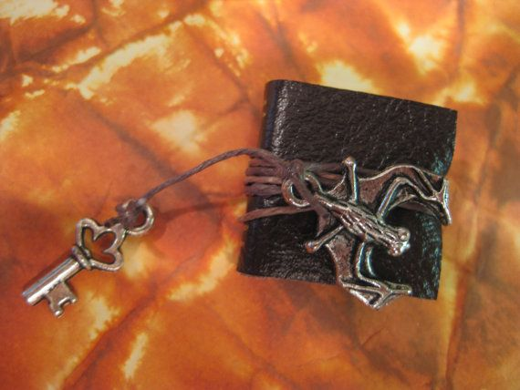 Bat / Monster / Vampire Spell Book  Dollhouse by gothicminiatures, $6.00