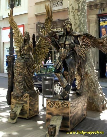 Живые статуи как сделать костюм