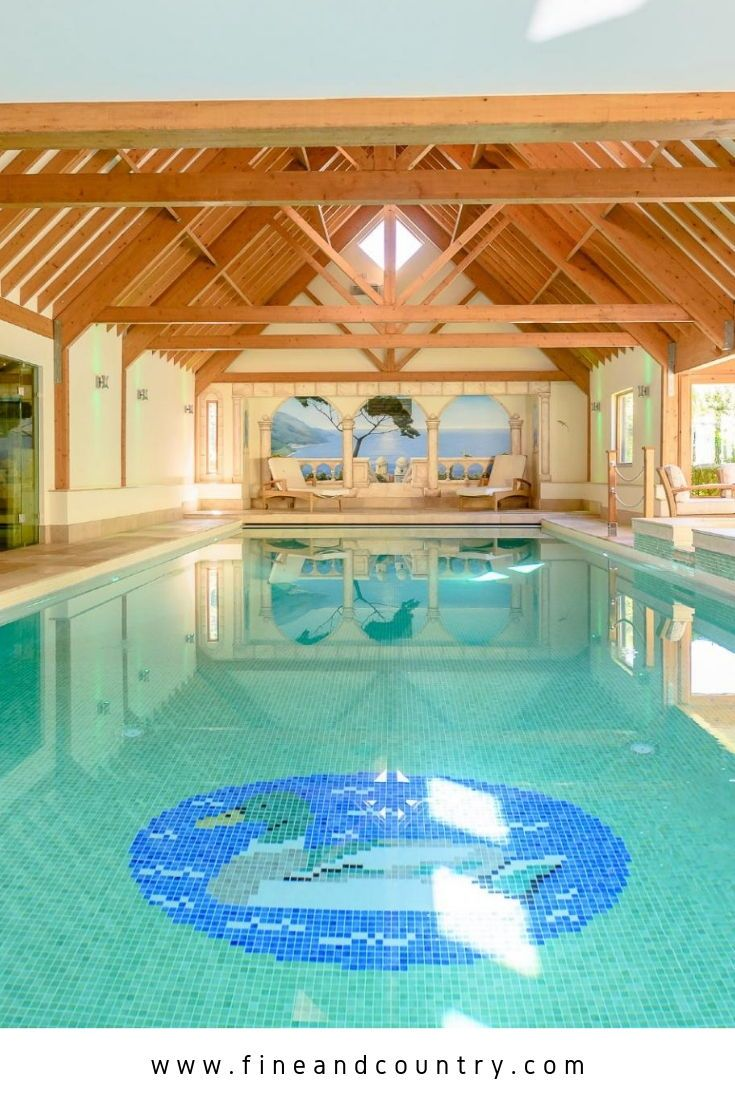 Large Indoor Swimming Pool In Langham Colchester Swimmingpool Indoorpool Colchesterhome Colchester Swimming Pools Detached House