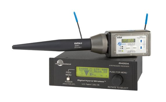 Lectrosonics TM400 - Wireless System For Test And Measurement