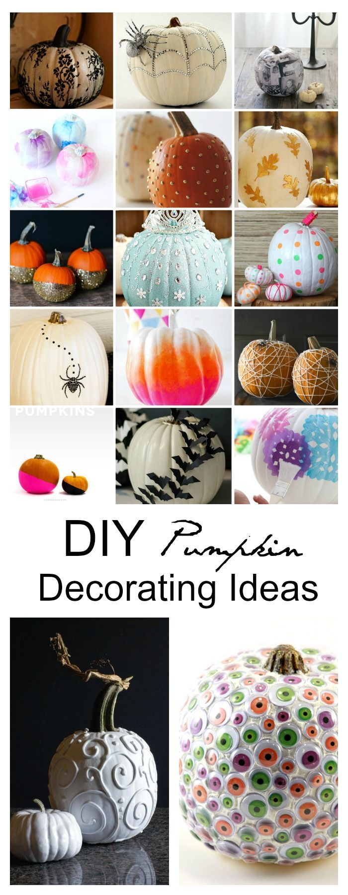 diy pumpkin decorating ideas - Ways To Decorate For Halloween