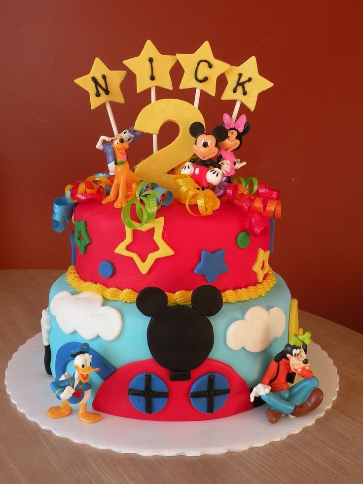 Best  Mickey Mouse Clubhouse Cake Ideas On Pinterest Mickey - Mickey birthday cake ideas
