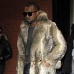 Kanye West Blasted by PETA Over 'Theraflu' Lyrics: 10 Celebs Who Sport Fur: West Blast, Sports Fur, Kanye West, 10 Celebs