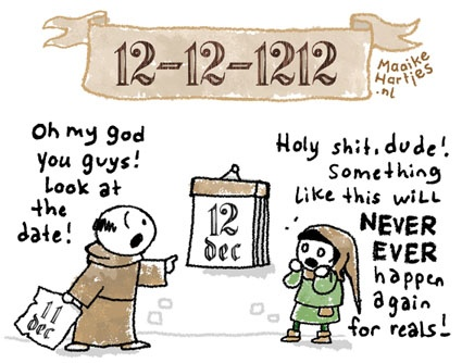800 years ago it REALLY was the last time.  (By Maaike Hartjes)