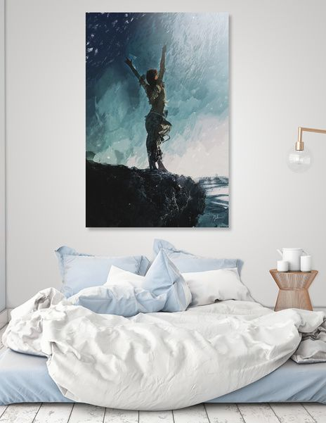Discover «Edge», Numbered Edition Acrylic Glass Print by Galen Valle - From $69…