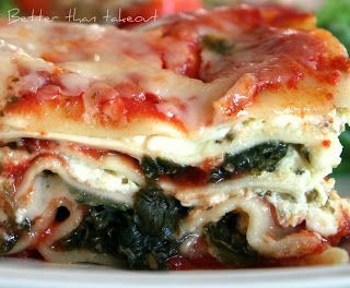"""Better than takeout: """"Loaf Pan Lasagna"""" with Cottage Cheese & Spinach"""