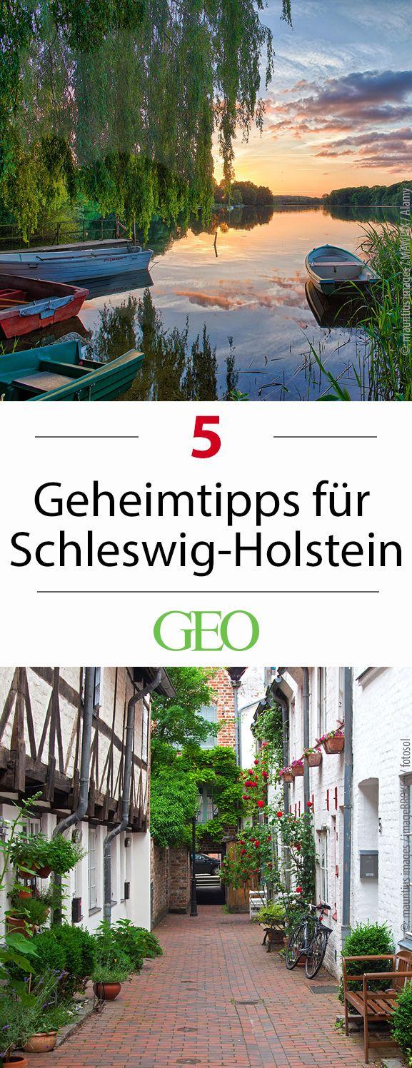 Hansestädte, Förden, Strände: Schleswig-Holstein hat viele beliebte Reiseziele. Doch es gibt in dem Bundesland ebenso traumhafte Orte, die nicht jeder kennt. Das sind unsere Geheimtipps für den hohen Norden
