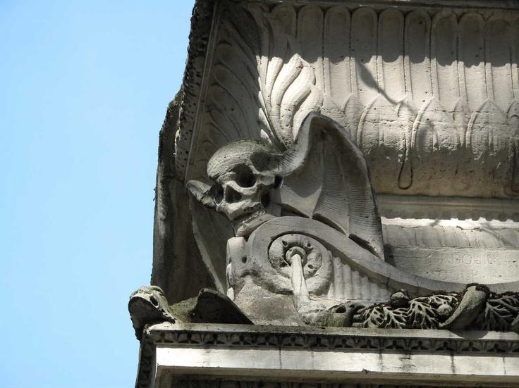 Pere Lachaise cemetery Paris. Mandy Hager photo.