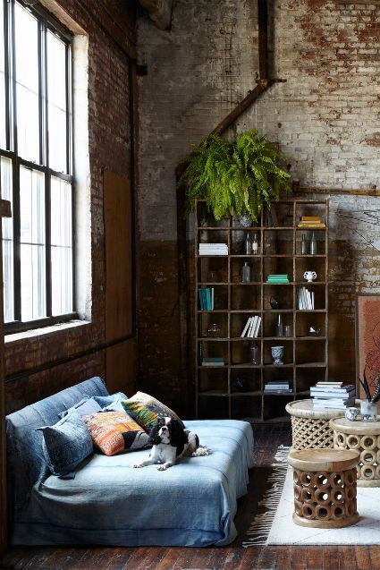 Its denim decor but not as we know it.