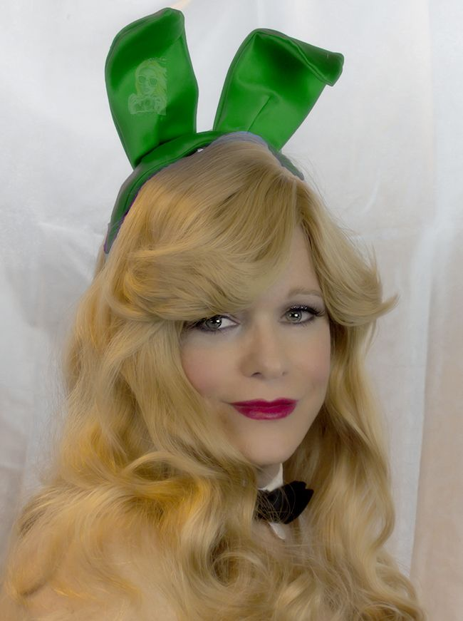 Love Liberty & Lip Gloss with Glamour Model, Actress, and Playboy Bunny Abigail Rich.