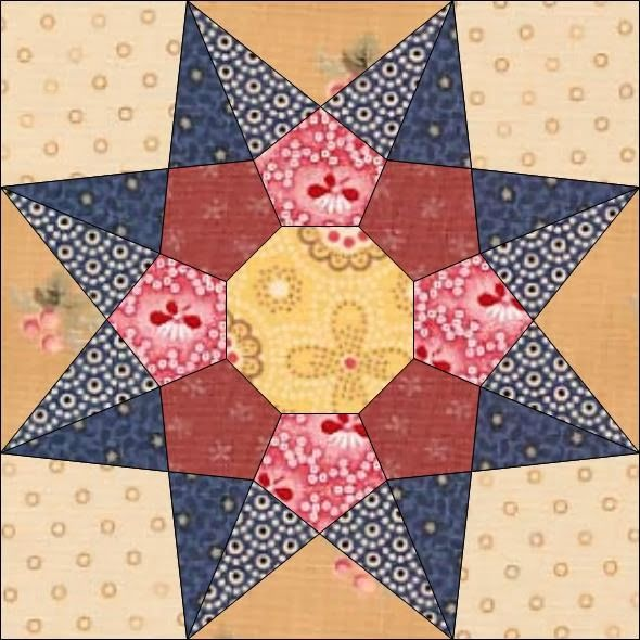 Country Rose Quilts: Block 22 - Dicen por ahí                                                                                                                                                                                 Mehr