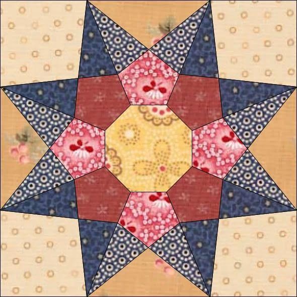 Country Rose Quilts: Block 22 - Dicen por ahí                                                                                                                                                                                 Mehr