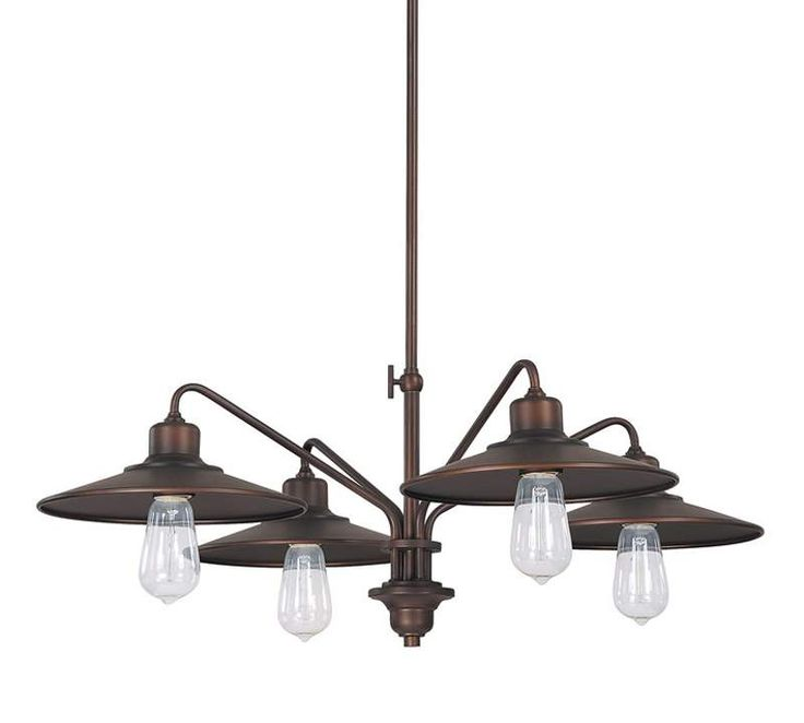 View the Capital Lighting 4194 Urban 4 Light 1 Tier Chandelier at LightingDirect.com.