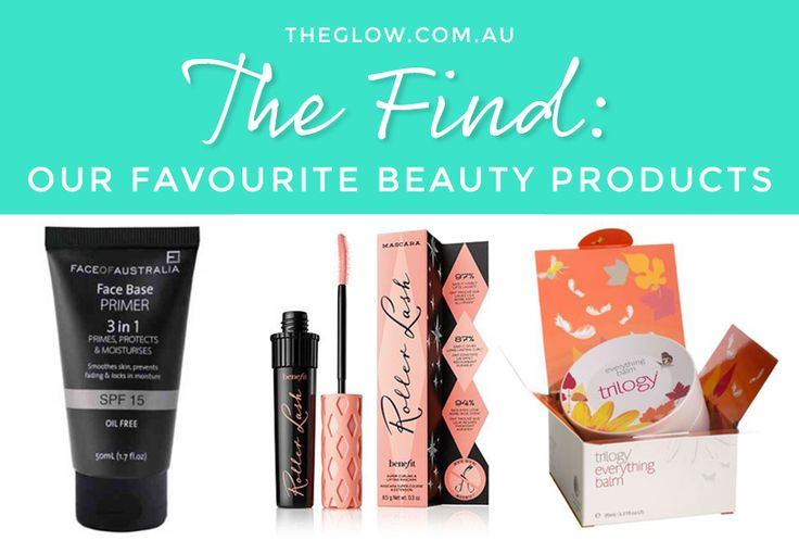 The best beauty products as picked by Edwina, Nicky, Carla, Jacqui, Kahla, Lizzie and Brittany from The Glow team.