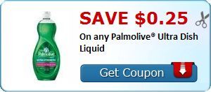 New Coupon!  Save $0.25 On any Palmolive® Ultra Dish Liquid - http://www.stacyssavings.com/new-coupon-save-0-25-on-any-palmolive-ultra-dish-liquid-6/
